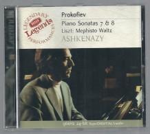 CD   -  PROKOFIEV : SONATES -  LISZT : MEPHISTO VALSE -  V. ASHKENASY, Piano - Klassik
