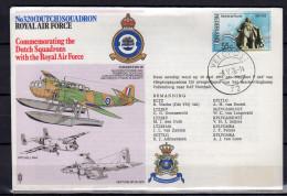 Dutch Squadron Royal Air Force VELDPOST Nr. 72 (Field Post Office # 72 )  1976 (aq28) - 1949-1980 (Juliana)