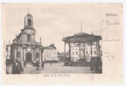 Cpa Charleroi  Kiosque  1904 - Charleroi