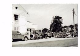 21 - LONGECOURT EN PLAINE Côte D'Or - Garage MOSCHETTO 1964 Matériel Agricole Tracteur DUNLOP MOBYLETTE - France