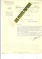 60 - Oise - BRETEUIL - Facture SCIERIES DU NORD ET DE L'EST - Exploitations Forestières – 1931 - REF 227B - France