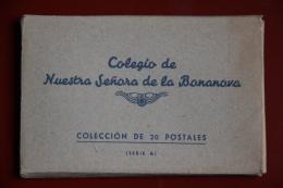 BARCELONA - Coleccion De 20 Postales Del Colegio NUESTRA SENORA DE LA BONANOVA - Barcelona