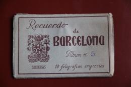 BARCELONA - Coleccion De 10 Fotografias Originales - Barcelona