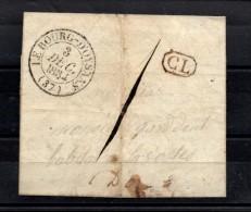 V-222: FRANCE:   Lettre De Le Bourg D'Oysans Du 3/12/1834 - Postmark Collection (Covers)