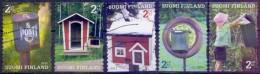 USED FINLAND  2011, Post Boxes 5V - Finlandia