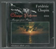 CD   -  CHOPIN - MUSIQUE POUR PIANO - CHRISTIANE MATHE, Piano - Klassik