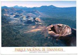 Vulkaan Volcan Vulcan Volcano Vulkano  Timanfaya Lanzarote Afm 17x12cm - Généalogie