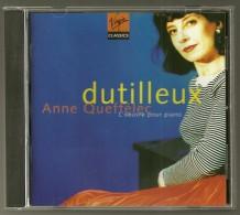 CD  - DUTILLEUX - L´OEUVRE POUR PIANO  - ANNE QUEFFELEC - CHRISTIAN IVALDI, Piano - Klassik