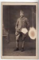 WWI - 6 EME REGIMENT - 1917 - INSIGNE CYCLISTE - POUR PARIS - CARTE PHOTO MILITAIRE - Guerre 1914-18