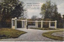 Ingang Koninklijk Park - Leopoldsburg (Beverloo Camp)
