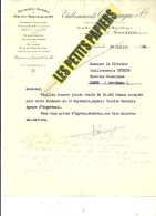 95 - Val D'oise - SANNOIS - Facture CHAMPAGNE - Charpente - Menuiserie - Serrurerie – 1930 - REF 227D - 1900 – 1949