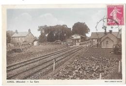AIREL (50) Intérieur De La Gare Du Chemin De Fer - France