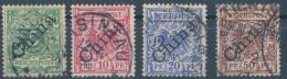 1898. Deutsche Post In China :) - Bureau: Chine