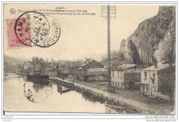 MEDERDRA ..-- DINANT ..-- Quai De La Meuse . DELHAIZE . 1920 Vers MEDERDRA , Mauritanie ( Emile Granier ) . Voir Verso . - Mauritanie