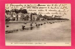80 SOMME ST-VALERY-SUR-SOMME, Quai Blavet, 1931,  (L. L.) - Saint Valery Sur Somme