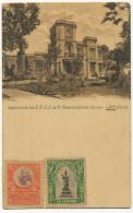 Lima Legacion De Los E.E.U.U. De N. America Quinta Heeren USA Legation Printed By Mosinger In Zagreb Croatia 1908 - Pérou