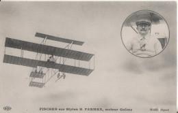 Aviation Fischer  Iplan Farman - Aviatori