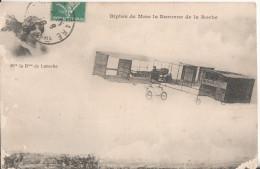 Aviation Biplan Aviatrice  La Baronne De La Roche - Piloten