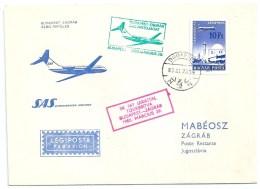 3752 Hungary SPM Philately Transport First Flight Addressed - Airplanes