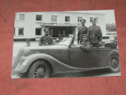 ROYAN / MILITARIA GUERRE WWII 1939/ 45 / FOYER SOLDAT / RETIRAGE STOCK D UN JOURNALISTE DE SAINTES / FORMAT 30X20 CM - Reproductions