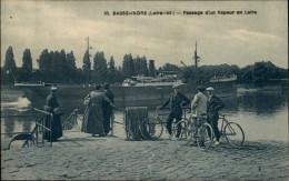 44 - BASSE-INDRE - Bateau Vapeur - Basse-Indre