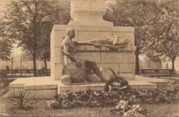 Luxembourg - Le Monument Du Souvenir Hommage Du Marechal Foch - Luxembourg - Ville