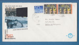 207209 / 1987 - 10+45+45 C - ZIFFER , INTEGRATION IN DIE GESELLSCHAFT , Netherlands Nederland Pays-Bas - Period 1980-... (Beatrix)