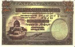 *PALESTINA* - Scheda A Chip Usata - Palestine