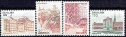 DENMARK  # FROM 1976 STANLEY GIBBONS 624-627** - Denmark
