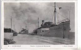 Algeciras, Puerto - Correos De Marruecos - F.p. - Anni ´1930/40 - España