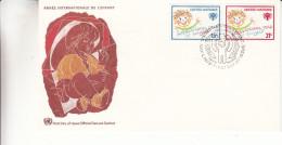 Année Internationale De L'enfance - Nations Unies - New York - Document De 1979 - Lettres & Documents