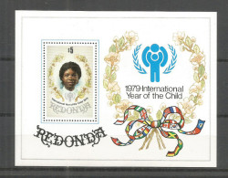 406v * REDONDA BLOCK * JAHR DES KINDES * POSTFRISCH ** !! - Antigua Und Barbuda (1981-...)