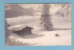 Kt Bern, WINTERLANDSCHAFT / SUPERBE PAYSAGE D'HIVER // E. Gyger, Phot. Adelboden - BE Berne