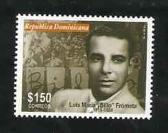 DOMINICAN REP. 2016 - LUIS MARIA FROMETA (Billo) Musician + Composer - Repubblica Domenicana