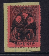 Albania:  Postage Due SG 15 Mi 15 1913 Holcome Photo Cert. Only 345 Were Issued RRR CV € 2600