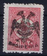 Albania: 1913 20  Pa Rose Carmine  SG 13 Mi 13 (on Turk. 176) Signed Mikulski And Köhle - Albanien