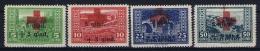 Albania: 1924 Mi 100 - 103 Yv 140 - 143 MH/* Falz/ Charniere - Albania