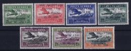 Albania: 1928 Mi 162 - 168  Yv We 15 - 21 MH/* Falz/ Charniere