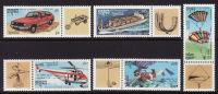 Cambodia #1212-16 F-VF Mint NH (1992) Leonard Da Vinci Designs (scuba, Helicopter, Parachute, Etc.) - Cambodia