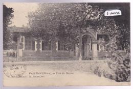 RARE PAULHAN : Oblitérée GARE DE PAULHAN Le 6-3-1911, école Des Garçons, élèves (34-14) 2 Scan - Paulhan