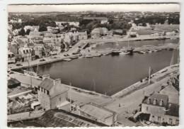 EN AVION AU-DESSUS DE ... PAIMPOL - Le Port, Le Bassin, Les Quais - édit. LAPIE, N°12 - Format 10,5 X 14,7 Cm - Paimpol