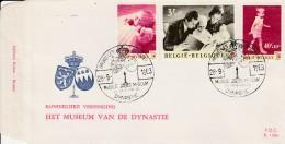 FDC - Centenaire De La Croix Rouge - 1963  - Musée De La Dynastie - - FDC