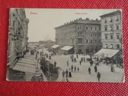 Hrvatska Rijeka Fiume Piazza Dante Animata - Croatie