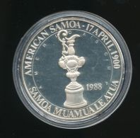 SAMOA AMERICANA / AMERICAN SAMOA 5 DOLLARS 1988 - Samoa Américaine