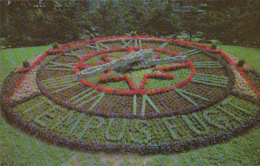 Montréal Québec Canada - 1965-1967 - Westmount Floral Clock - Horloge Florale - 2 Scans - Postcards