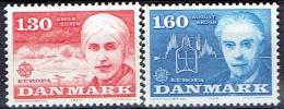 DENMARK  # FROM 1980  STANLEY GIBBONS 684-685** - Denmark