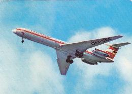 Interflug DDR Ilyushin 62 Airline Issue Postcard 1981 - 1946-....: Moderne