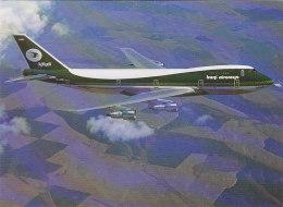 Iraq Iraqi Airways Boeing 747 Airline Issue Postcard - 1946-....: Modern Era