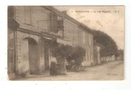 CPA 52 MOESLAINS Café Mignard Femme Posant Devant Une Maison - Autres Communes