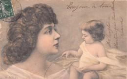 """¤¤  -  Illustrateur """" PATELLA """"   -  Femme  -  Art Nouveau   -  Bébé   -  ¤¤ - Illustrateurs & Photographes"""